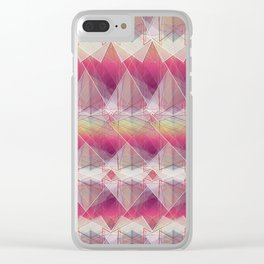 ZS AD Geometric Squares V 1.1.3.3. S6 Clear iPhone Case