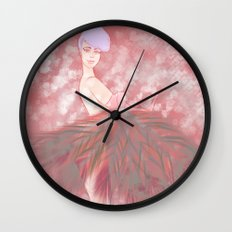Who's That Ga-Girl! Wall Clock