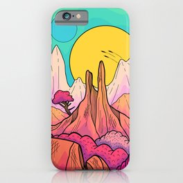 The 3 suns of Venus iPhone Case