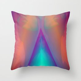 electric Throw Pillow