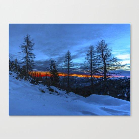 Warm Streak 1 Canvas Print