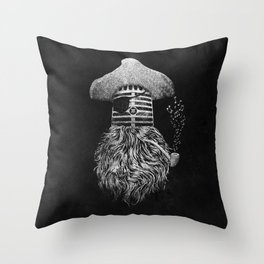 Pirate Music Throw Pillow