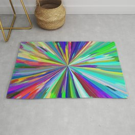 color wheel 06 Rug