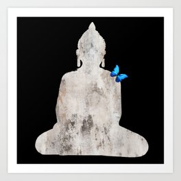 Bouddha's Soul Art Print