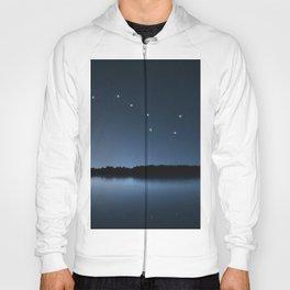 Big Dipper, Ursa Major star constellation, Night sky, Cluster of stars, Deep space Hoody