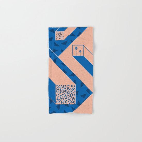 palm geometry Hand & Bath Towel