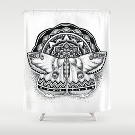 Mothdala Shower Curtain