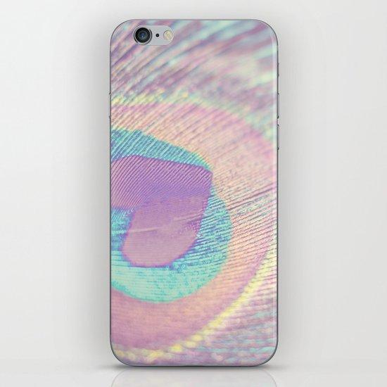 I Heart Peacocks iPhone & iPod Skin