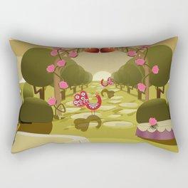 Garden of Eden - Love Rectangular Pillow