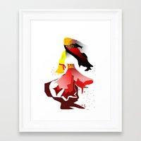 gypsy Framed Art Prints featuring Gypsy by sladja