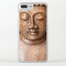 The Buddha in Meditation Clear iPhone Case