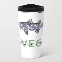Food Groups Metal Travel Mug