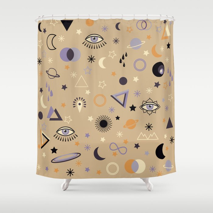 Universe Shower Curtain By Martaolgaklara