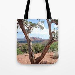 Arizona Horizon - Sedona Red Rocks Tote Bag