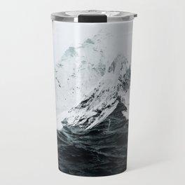 Those waves were like mountains Travel Mug