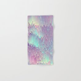 Iridescent Glitches Hand & Bath Towel