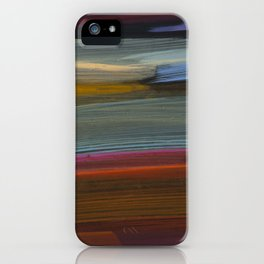 paint stripes two iPhone Case
