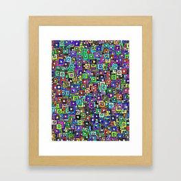 Photo Frames Framed Art Print