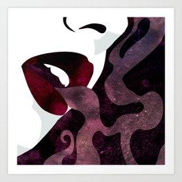 Velvet Noir Art Print