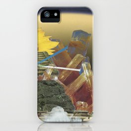 crystal energy iPhone Case