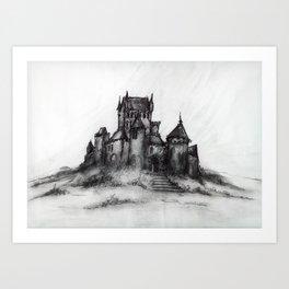 1989 - Spooky Castle Art Print