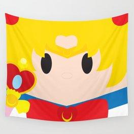 Sailor Moon Block Wall Tapestry