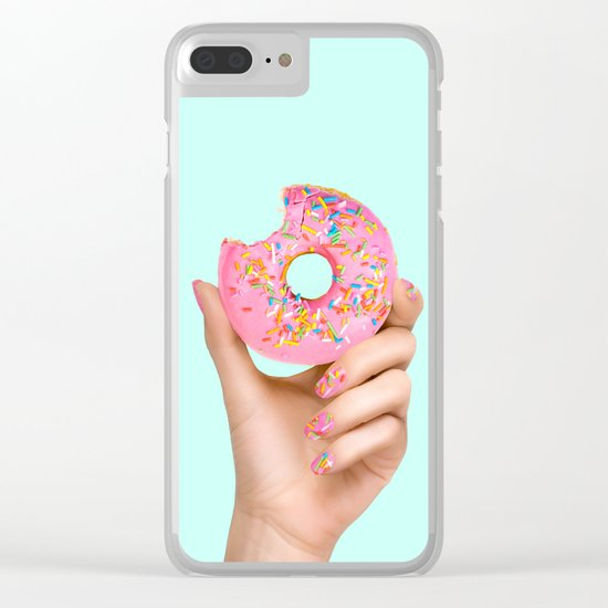 SPRINKLE POLISH Clear iPhone Case