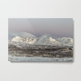 The Mountain An Teallach at Dawn Metal Print