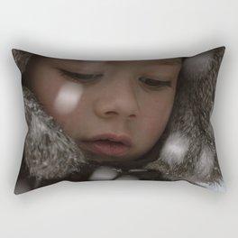 Snow boy Rectangular Pillow