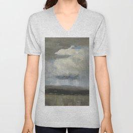 Tom Thomson - Landscape with Stormclouds - 1913 Unisex V-Neck