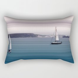 White Cliffs Rectangular Pillow