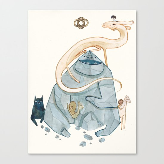 never ending story Canvas Print
