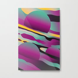 Unusual Peaches Metal Print