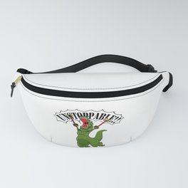 Unstoppable T-Rex Fanny Pack