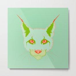 F*cking Rebels series: Lynx Metal Print