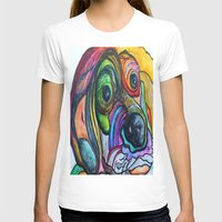 the hound T-shirts featuring Hound Dog by EloiseArt
