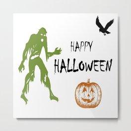 Happy Halloween Art Metal Print