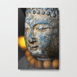 Buddha Stone Metal Print