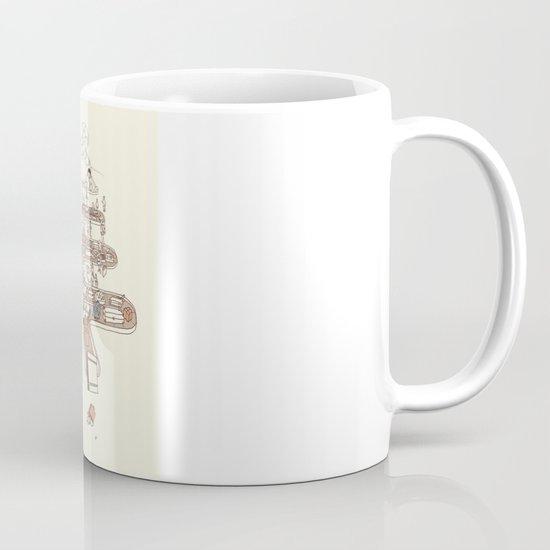 Secret Lives of Luggage Mug