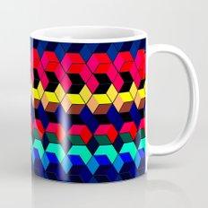 Spectrum Cubes / Pattern #7 Mug