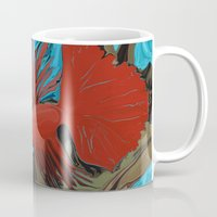 band Mugs featuring Betta's Band by Distortion Art