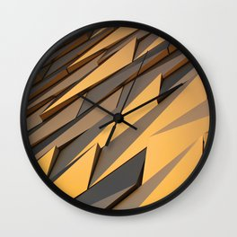 Titanics surface Wall Clock