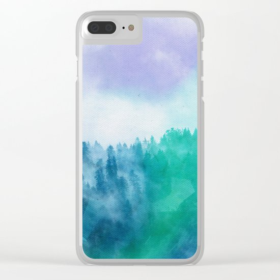 Enchanted Scenery 3 Clear iPhone Case