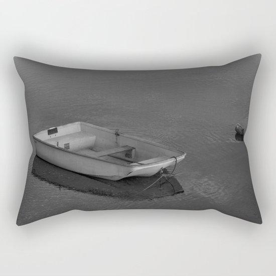 Boat B&W Rectangular Pillow