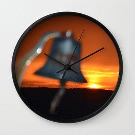 Sunset Bell Wall Clock