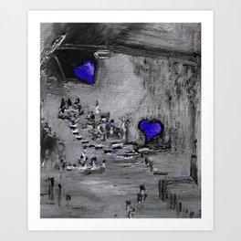 Purple Passion Manufacturing Company Art Print