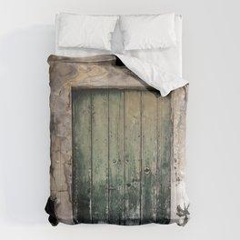 Green Door III Comforters