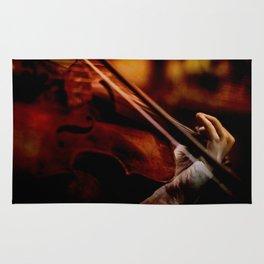 Lacrimosa Violinist Rug