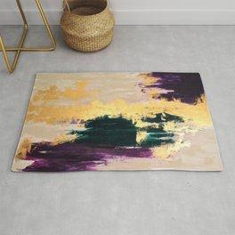Sassenach Purple and Gold Rug