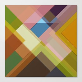 Abstract Composition 634 Canvas Print
